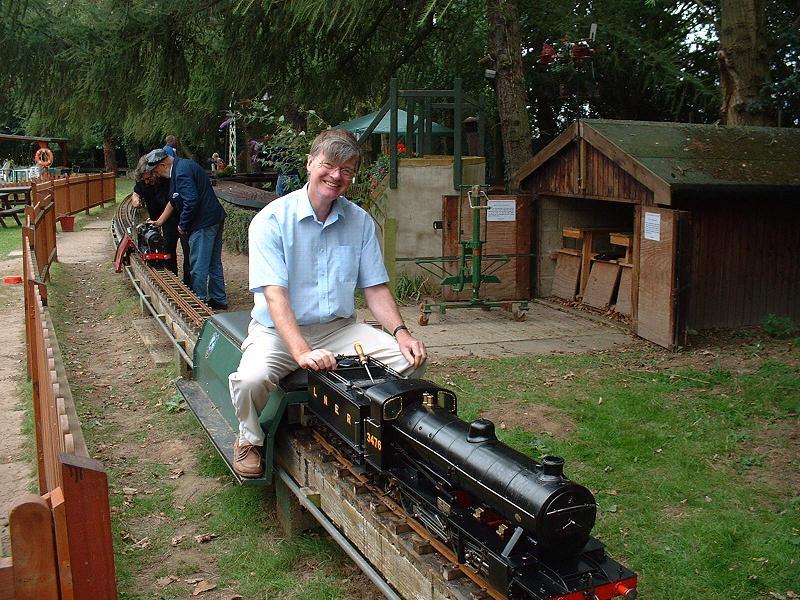 Modelworks Britannia Builder's Diary - Steam Trials